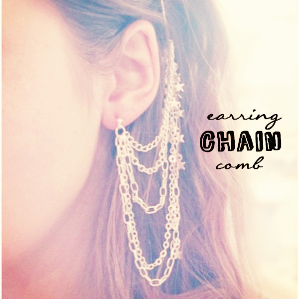 earring chain 1