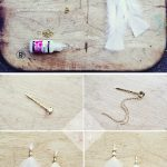 DIY Feather and Chain Hairgrip