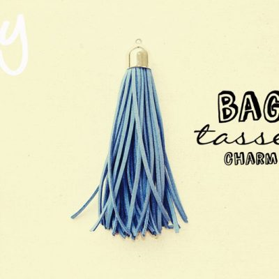DIY Bag Tassel Charm