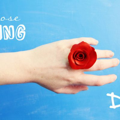 DIY Rose Ring