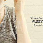 DIY Translucent Plastic Bracelet