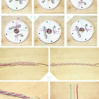 DIY Kumihimo Bracelet