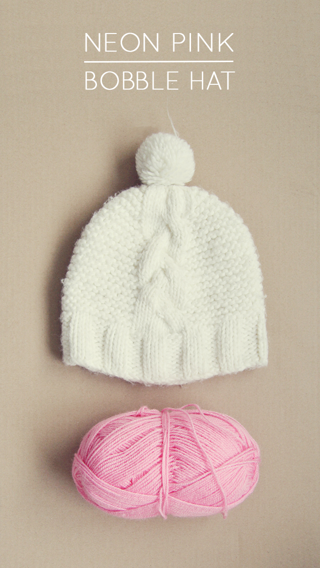 bobble hat wool