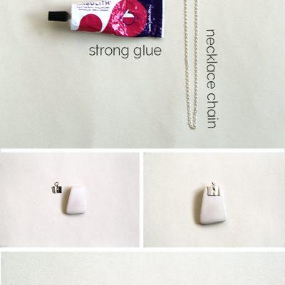 DIY// Ceramic Chip Necklace