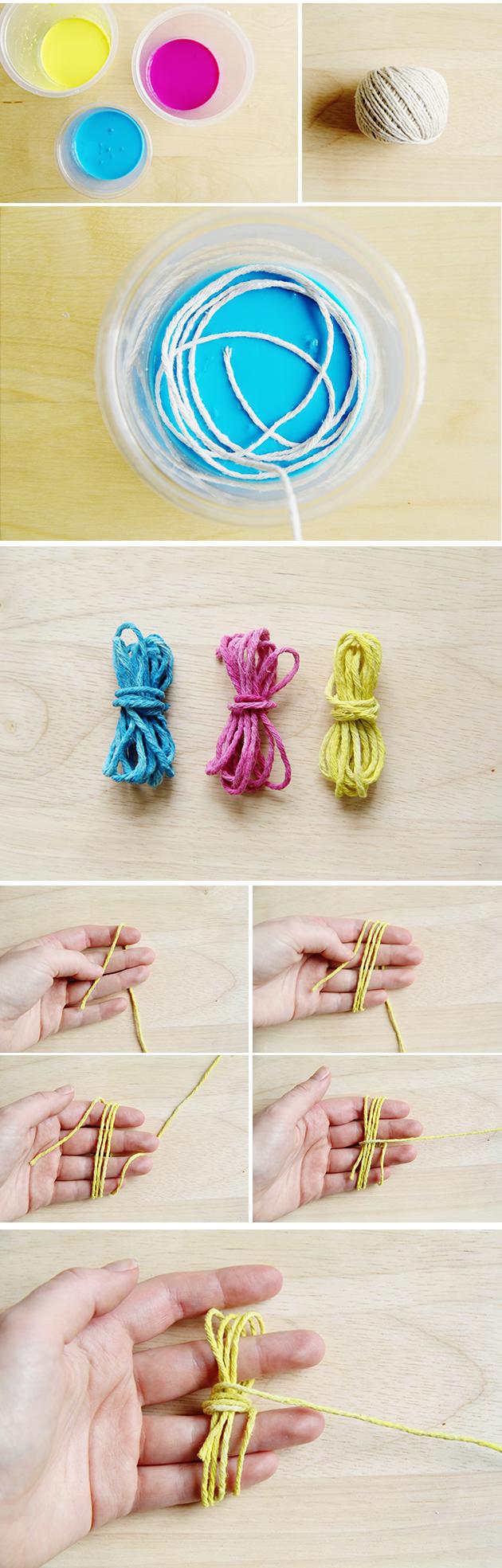 DIY Monkey Fist Knot Earrings