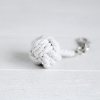 DIY Monkey Fist Knot Keyring