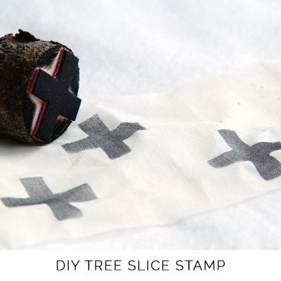 DIY Wood Slice Stamp