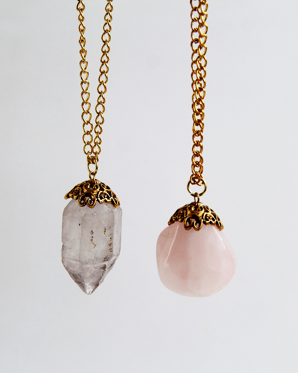 Fall For DIY_Decadent Crystal Necklaces tutorial