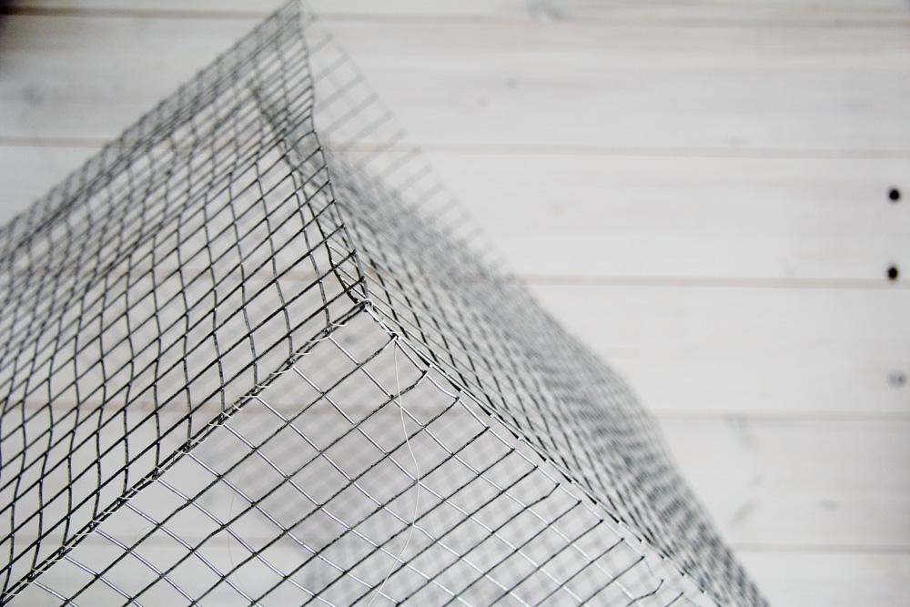 DIY Wire Mesh Baskets