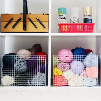 DIY Wire Mesh Baskets