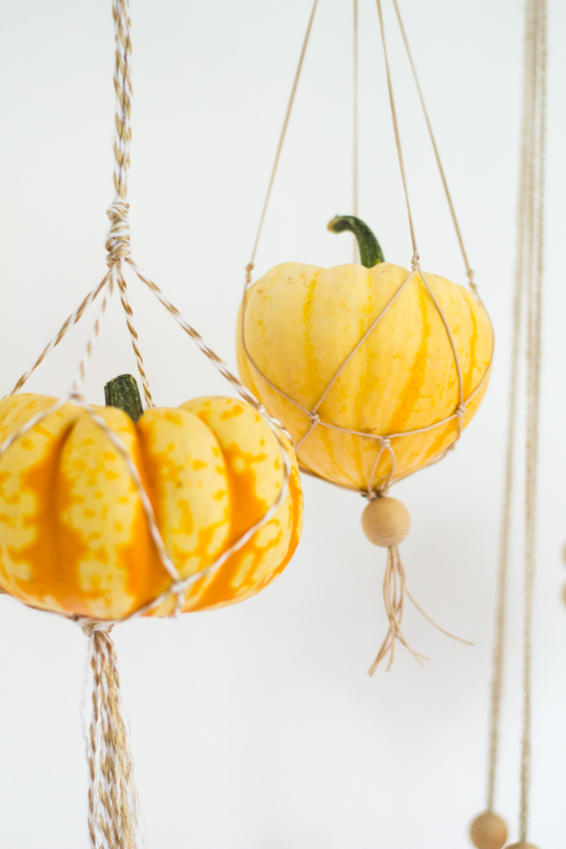 Fall For DIY | Hanging Pumpkins