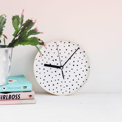 DIY Dotted Wall Clock