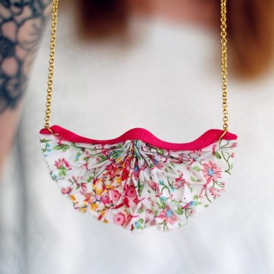 DIY Smocked Jewellery | Mollie Makes Covergift Tutorial
