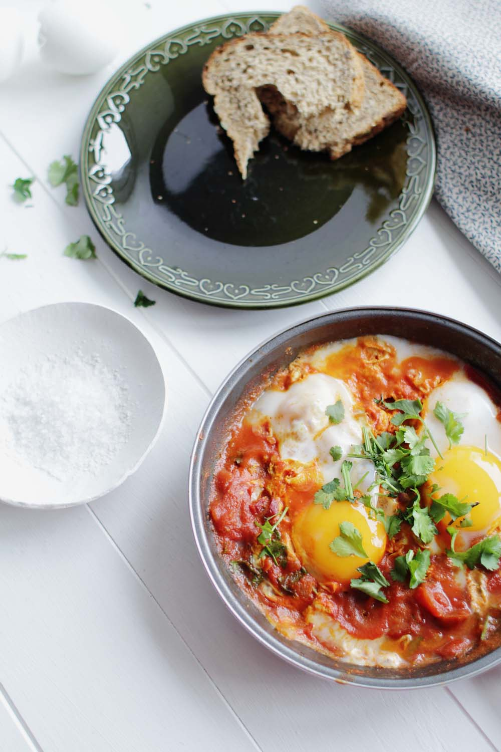 Fall For DIY | Spicy Duck Egg Shakshouka