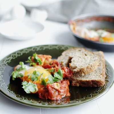 Food | Spicy Duck Egg Shakshouka