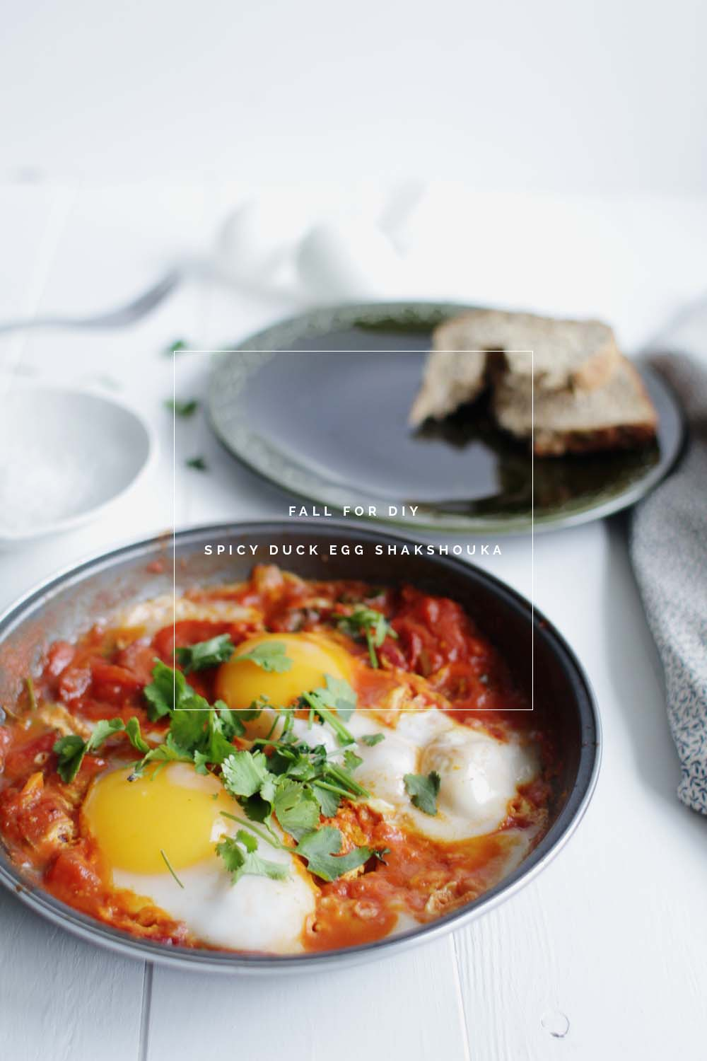 Fall For DIY | Spicy Duck Egg Shakshouka recipe