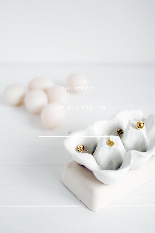 Diy Clay Egg Carton Fall For Diy
