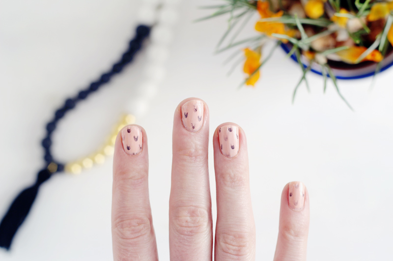 Fall For DIY Bunny Mani 10