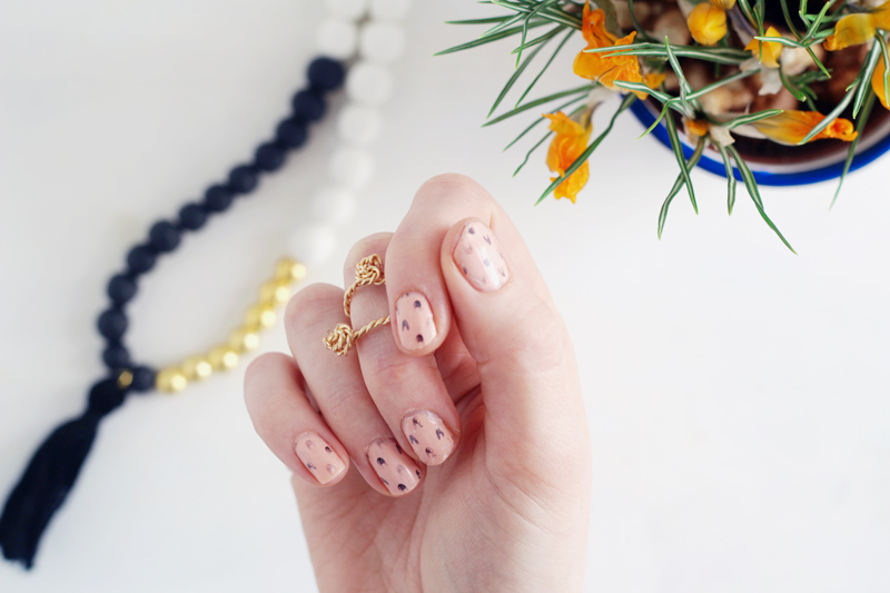 Fall For DIY Bunny Mani 11