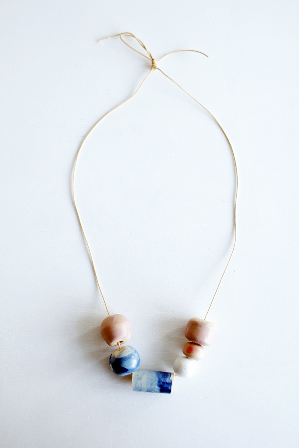 Fall For DIY Faux Ceramic Glazed Beads