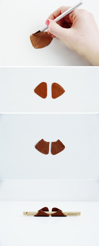 DIY Faux Gold Cuff Earrings | Fall For DIY
