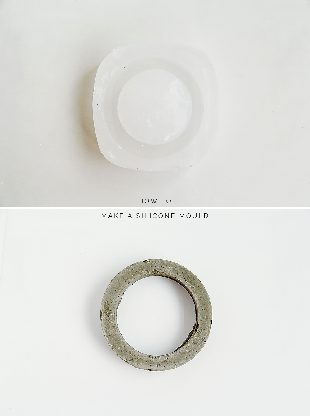 How to Make a DIY Silicone Mould | Fall