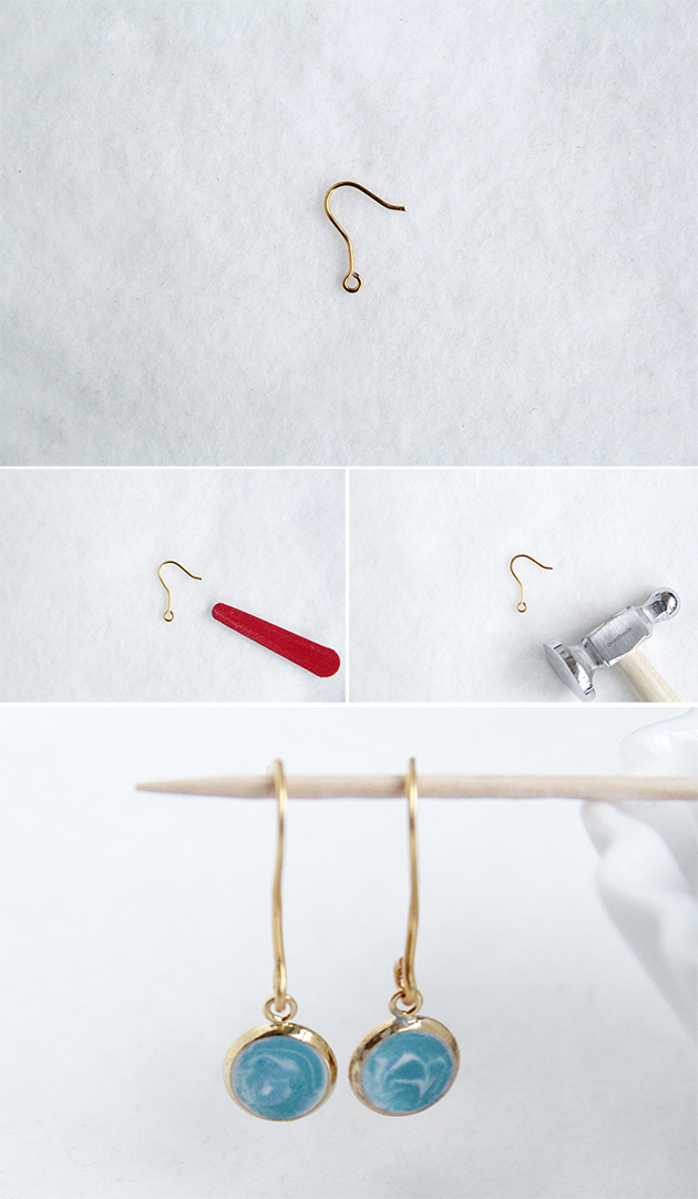 How To Make Fish Hook Ear Wires Fall For Diy