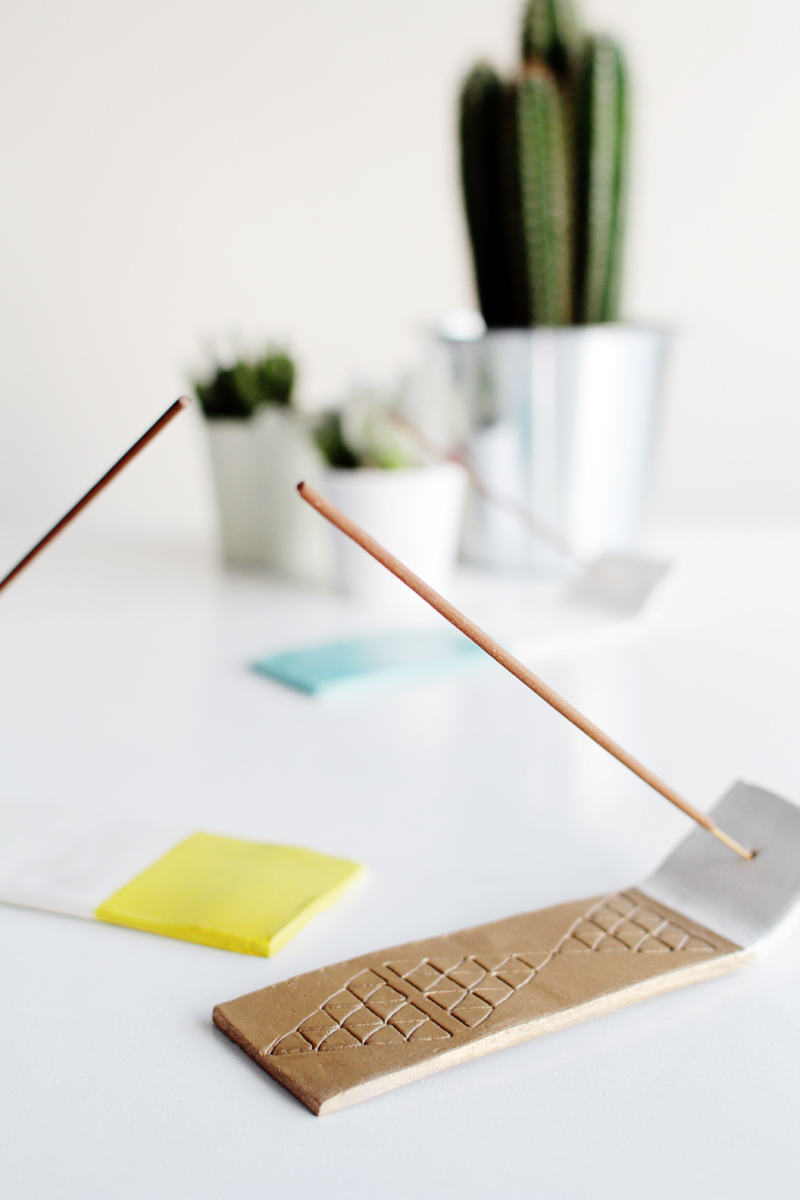 Fall For DIY Incense Holder tutorial 11