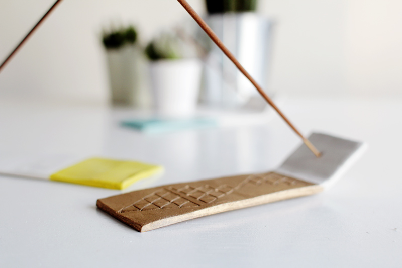 Fall For DIY Incense Holder tutorial 12