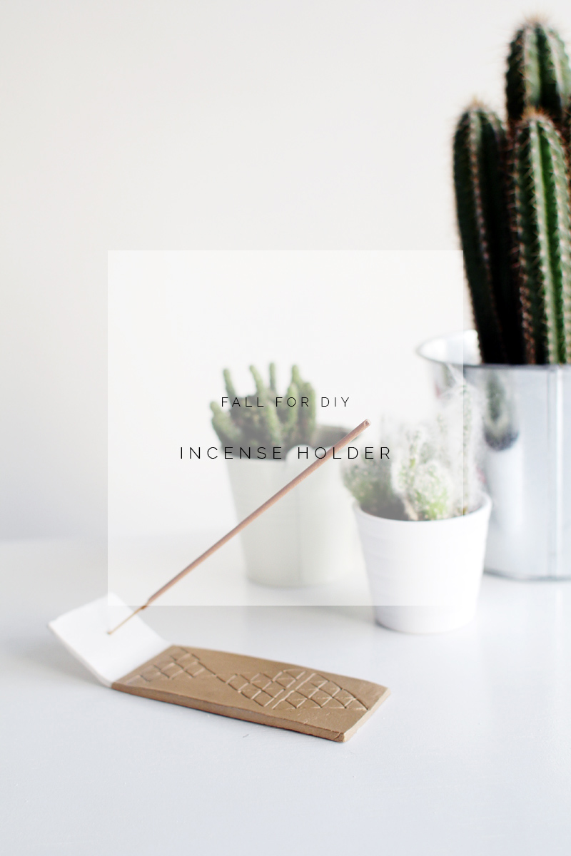 fall for diy | incense holder | fall for diy
