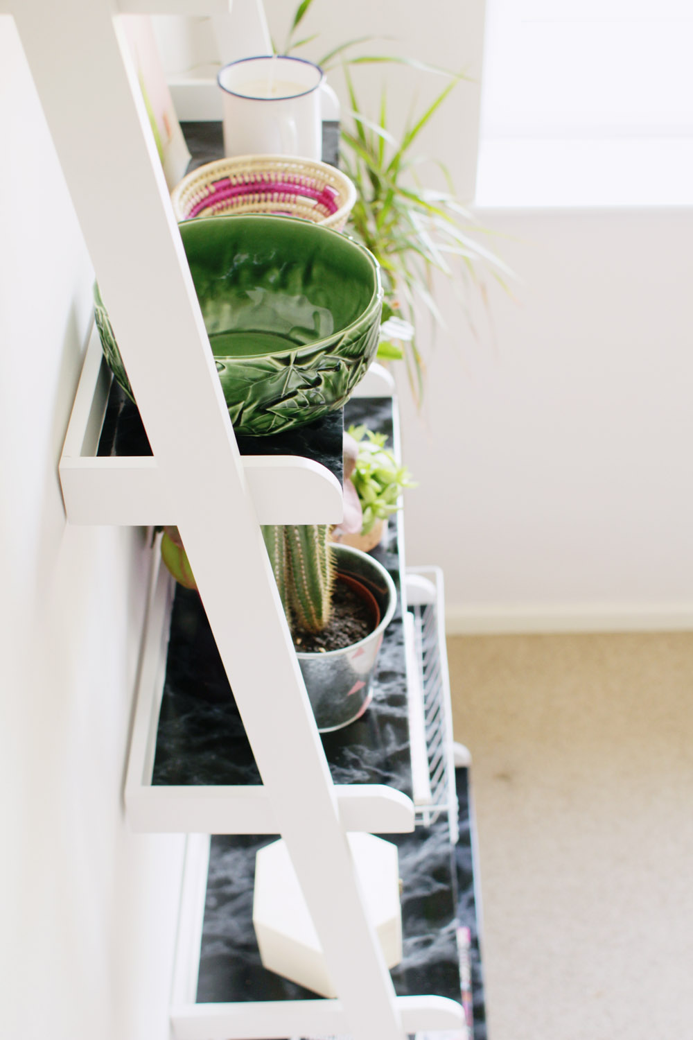 Fall For DIY | Ladder Shelf Hack