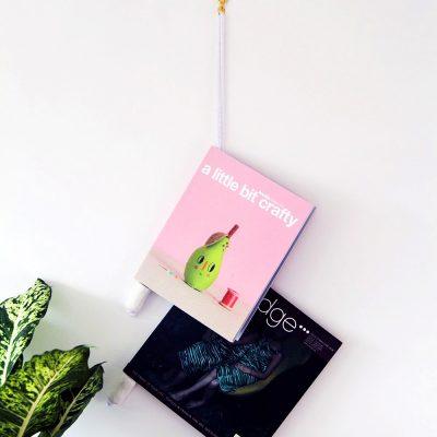 DIY Magazine Hanger