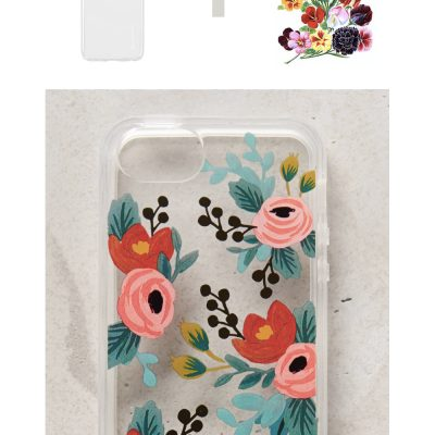 Make it Easy | Floral Tattoo Phone Case (for Christmas)