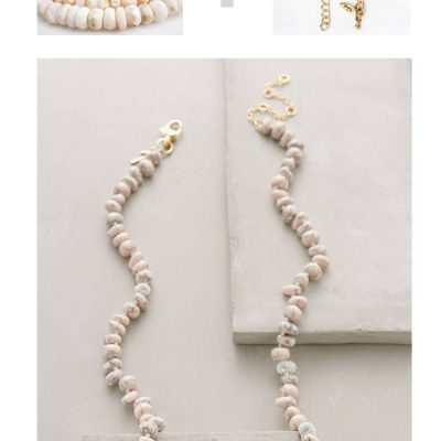 Make It Easy | Anthro Opal Strand Necklace