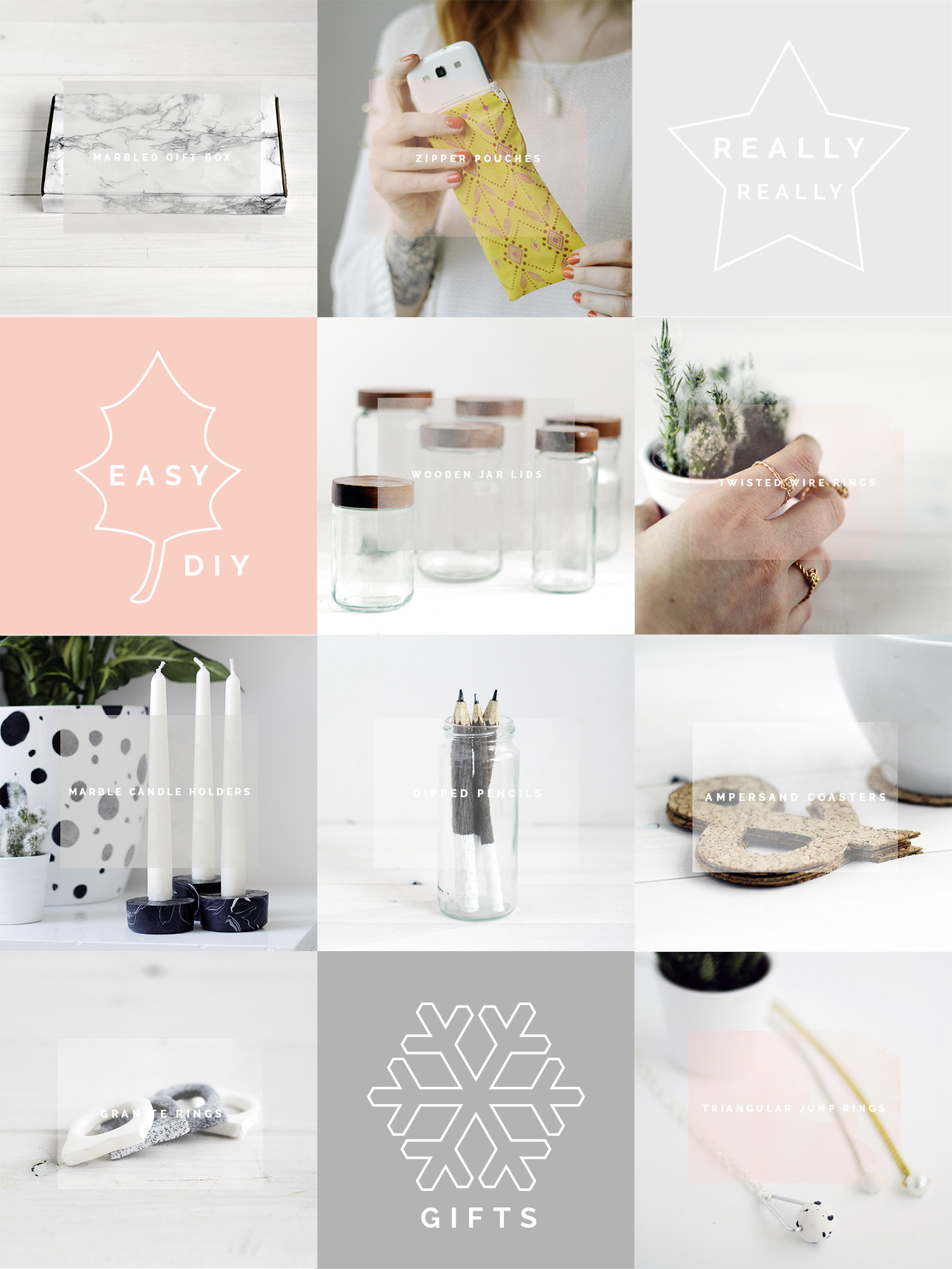 Really Really Easy DIY Gifts