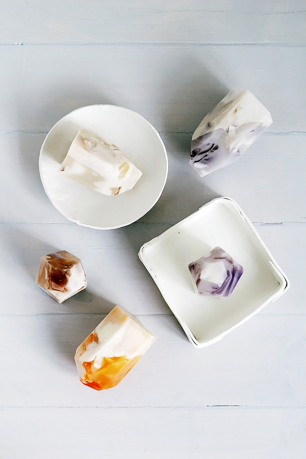 Fall For DIY Semi Precious Stone Soap 4