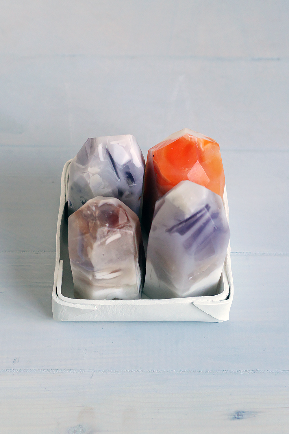 Fall For DIY Semi Precious Stone Soap 6
