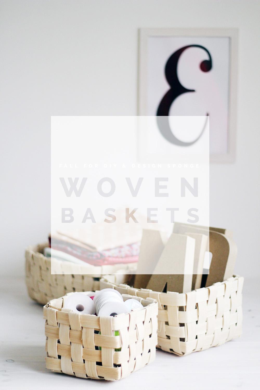 Handmade Baskets Diy : Diy handmade baskets fall for