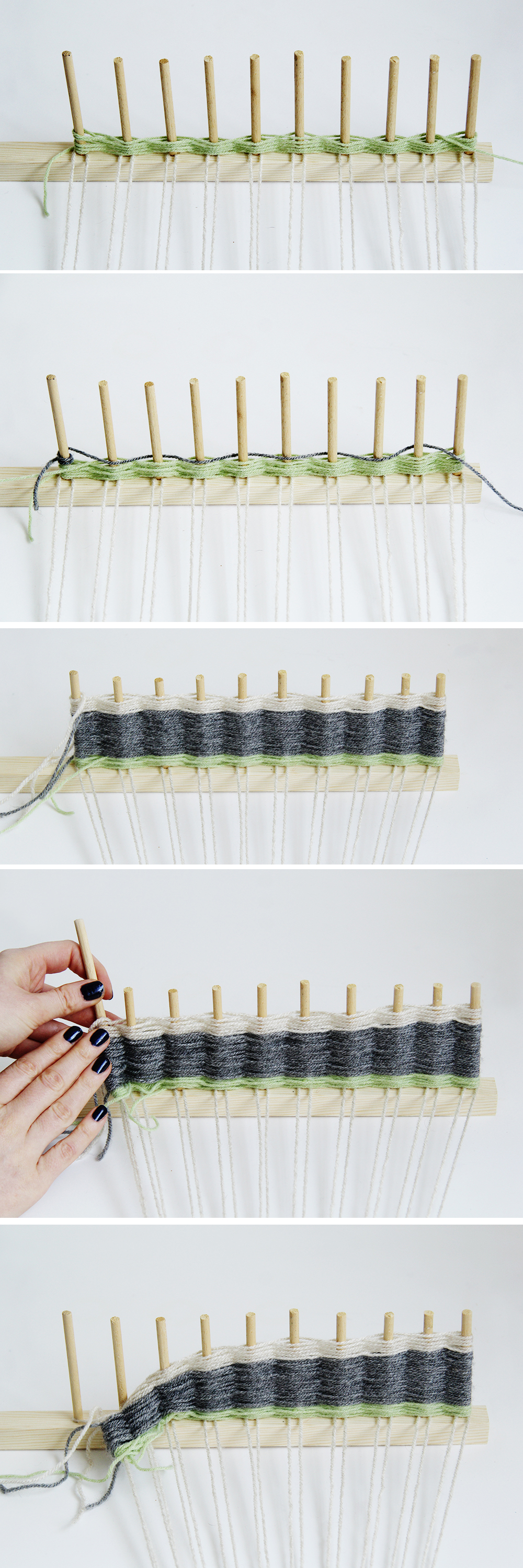 Diy woven wall hanging fall for diy for Wall hanging images