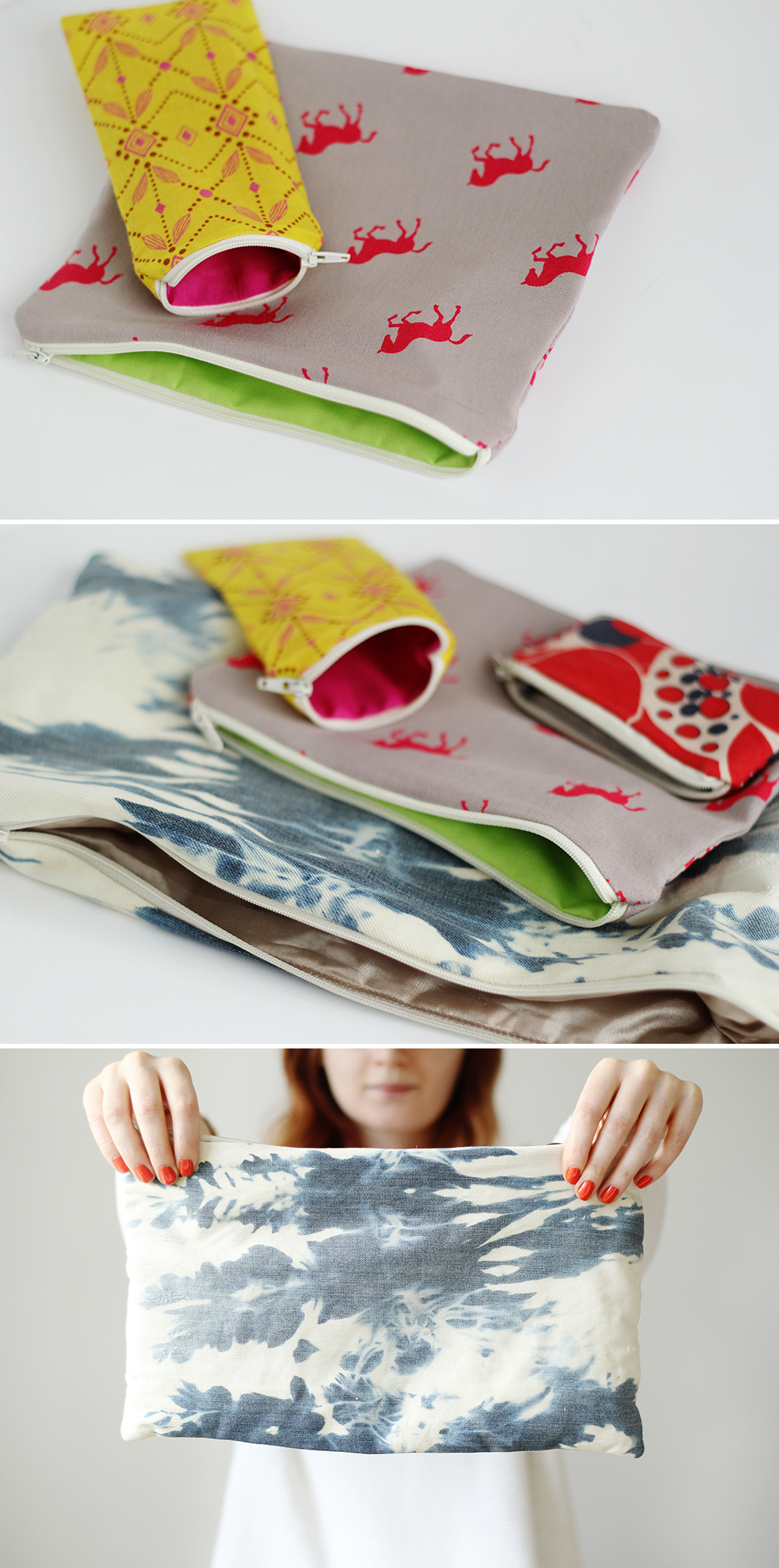 Fall For DIY Zip Pouch How To