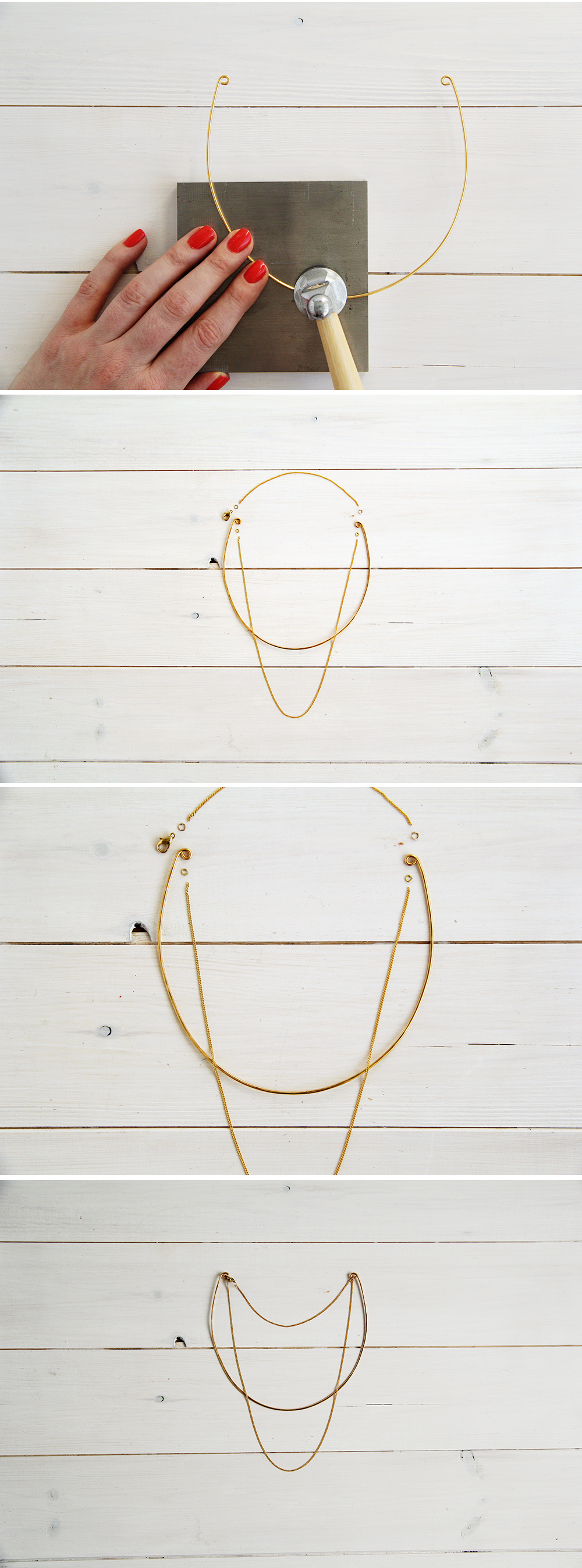 easy necklace diy pin pinterest looks jcrew loved