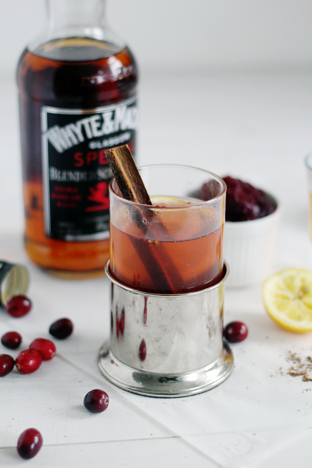 Cranberry spiked hot toddy fall for diy for Hot toddy drink recipe