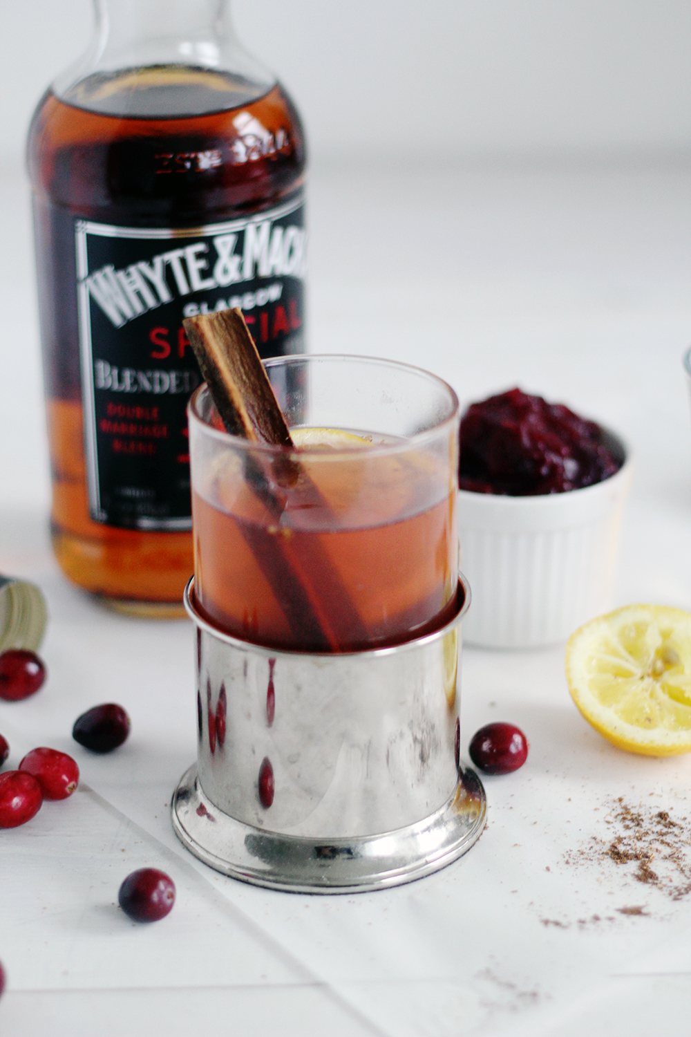 Fall For Drinks Cranberry Spiked Hot Toddy