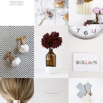 Fall For…. Tangible Textures