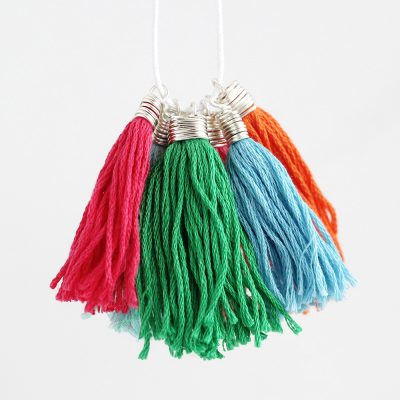 How to Make Wire Wrapped Tassel Caps
