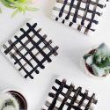 DIY Crisscross Coasters