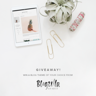 Giveaway | Update your Blog with Blogzilla