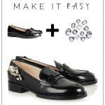 Make it Easy: Crystal Embellished Loafers