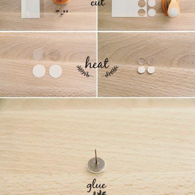 7 Days of Christmas Crackers // DIY Shrink Plastic Earrings