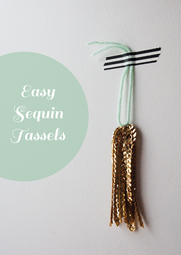 Easy-Gold-Sequin-Tassel-DIY-Tutorial